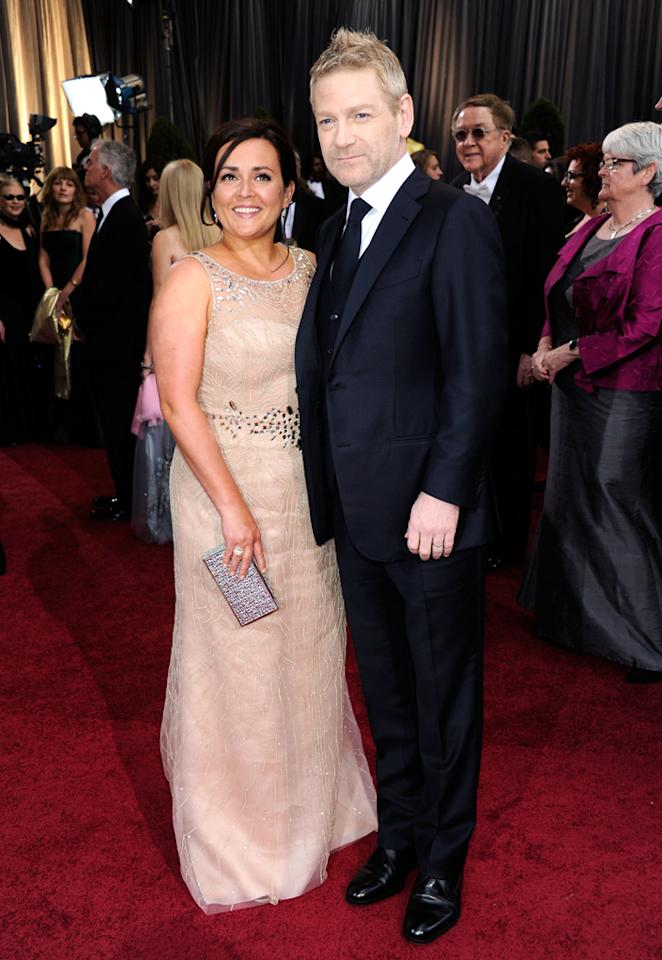 Kenneth Branagh and guest arrive at the 84th Annual Academy Awards in Hollywood, CA.