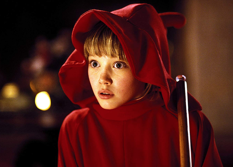 <p>Before she was a Disney Channel darling, Duff played Wendy, a young witch who teams up with a friendly ghost to stand up to their demanding families.</p>