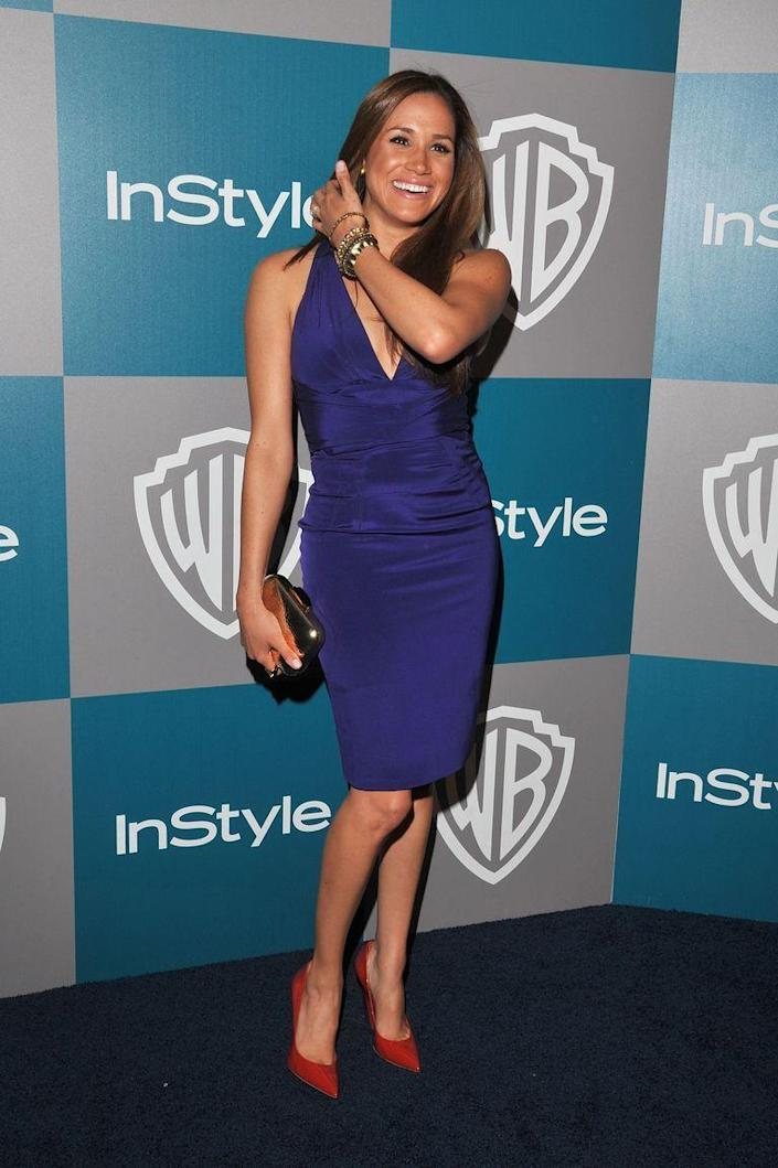 <p>At the Warner Bros. and InStyle Golden Globes after party in 2012. </p>