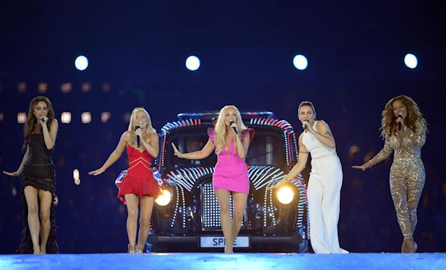 At the close of the 2012 London Olympic Games, the Spice Girls performed their greatest hits. (Photo: Getty Images)