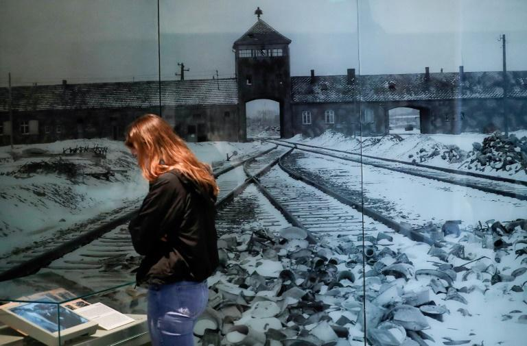 The gathering at the Yad Vashem Holocaust memorial center in Jerusalem will rival the official ceremony at Auschwitz in Poland (AFP Photo/Emmanuel DUNAND)
