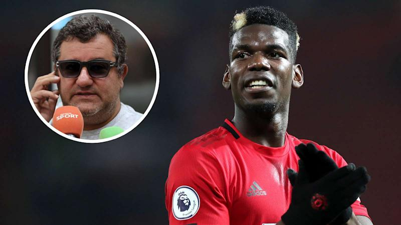 'Solskjaer is out of line' - Raiola hits back and reiterates Pogba is only committed to Man Utd until end of Euro 2020
