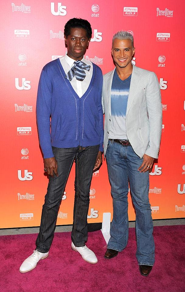 """America's Next Top Model"" judges J. Alexander and Jay Manuel worked the red carpet like a runway. Todd Williamson/<a href=""http://www.wireimage.com"" target=""new"">WireImage.com</a> - April 22, 2009"