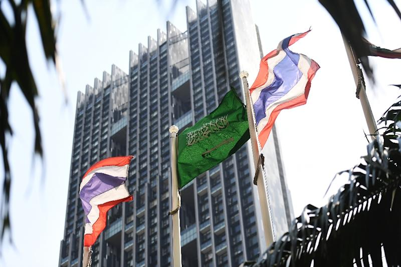 Thailand initially said it would deport the 18-year-old at the request of Saudi embassy officials, but later U-turned on this decision (AFP Photo/Lillian SUWANRUMPHA)