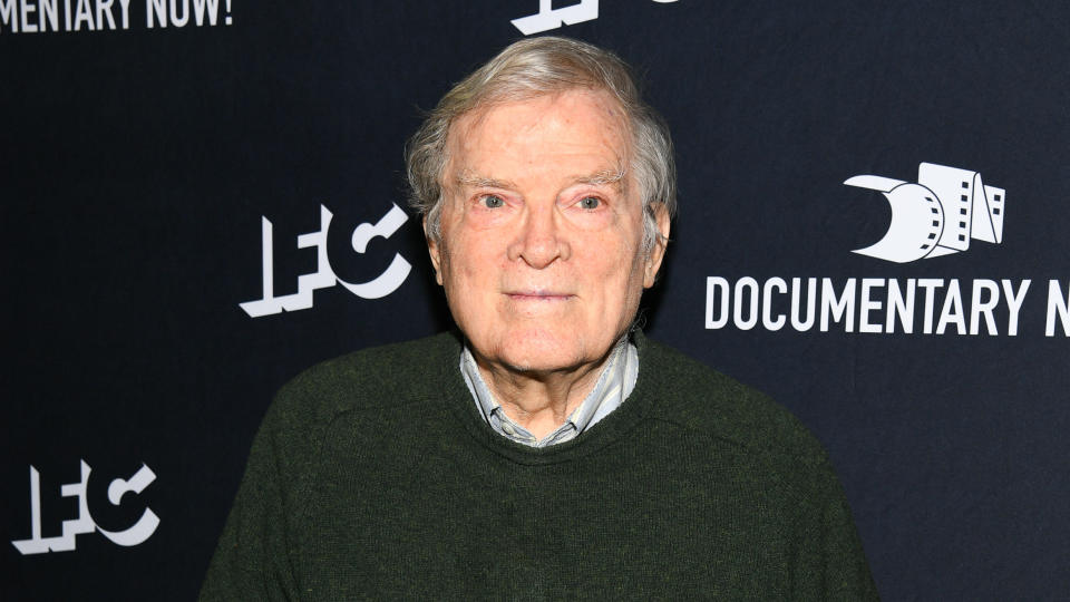 Pennebaker is lauded as one of the pioneers of 'direct cinema' and he was given an honorary Oscar in recognition of his work in 2013. He passed away on 1 August. (Photo by Dave Kotinsky/Getty Images for IFC)