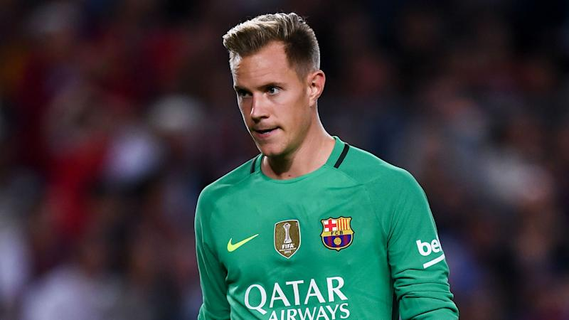 Ter Stegen happy at Barcelona amid Manchester City links