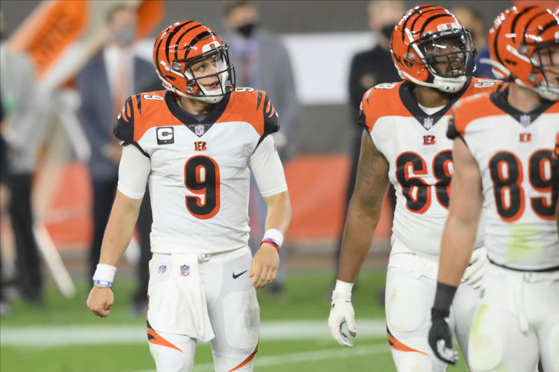 Bengals QB Joe Burrow up for Pepsi Rookie of the Week honors