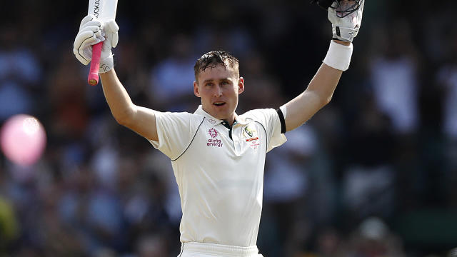 Australia batsman Marnus Labuschagne made another century during the third Test against New Zealand.