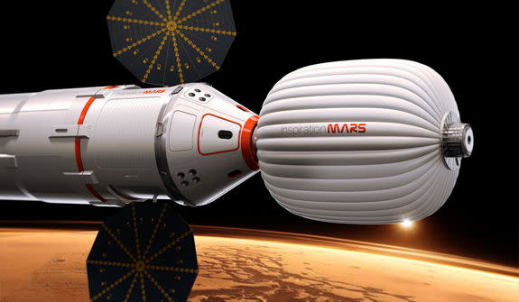 Private Mars Flyby Mission Ponders NASA & Commercial Rockets