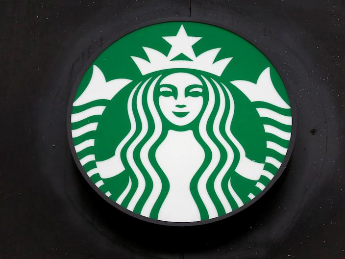 A Starbucks store sign is shown during the coronavirus disease (COVID-19) outbreak in Valparaiso
