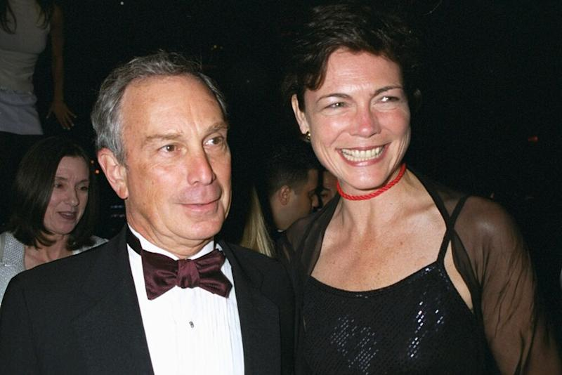 From left: Michael Bloomberg and Diana Taylor in 2000. | Richard Corkery/NY Daily News Archive via Getty