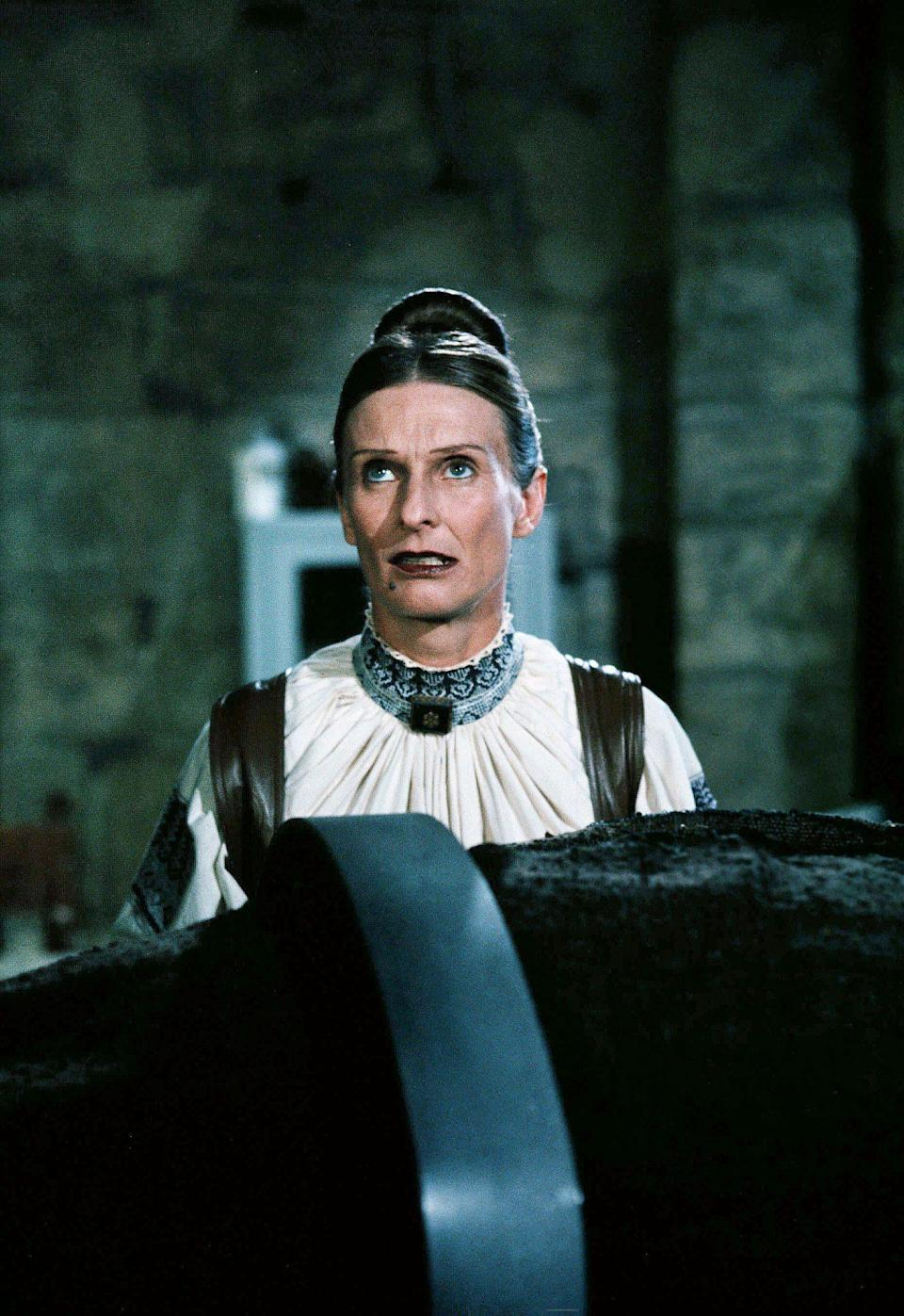 <p>Funnyman Mel Brooks relied on Leachman's comedic skills in three of his films, including 1974's <em>Young Frankenstein</em> (pictured), <em>High Anxiety </em>and <em>History of the World: Part I</em><em>. </em>She also appeared on his 1989 TV series, <em>The Nutt House.</em></p>