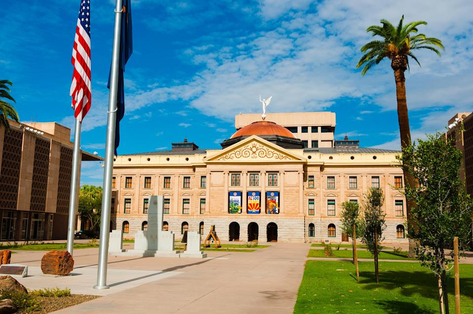Arizona State Capitol building, now known as the Arizona Capitol Museum. (Photo: Davel5957 via Getty Images)
