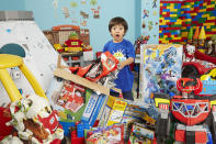 """<p>""""Ryan ToysReview"""" is owned by six-year-old Ryan from the USA, and viewers can watch Ryan play with his favourite toys and talk about them. Sometimes, contrary to the title, his family are mentioned, too. As of time of writing, the channel has 7,543,809 subscribers. (PA) </p>"""