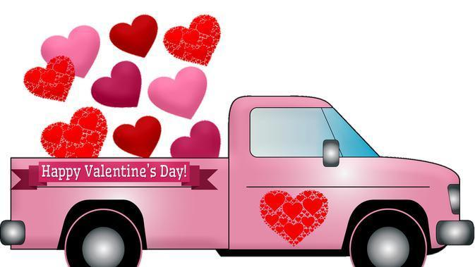 Ilustrasi Hari Valentine (Image by Please Don't sell My Artwork AS IS from Pixabay)
