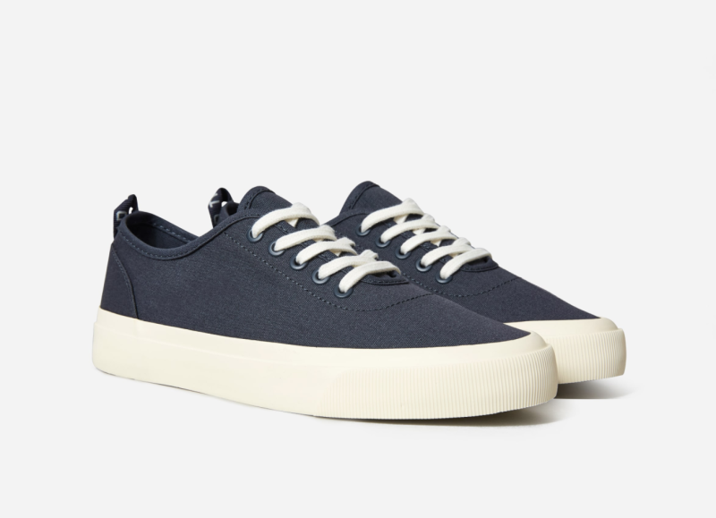 The Forever Sneaker in India Ink. Image via Everlane.