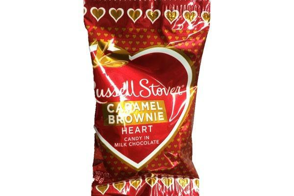 Valentines Candy Ranked Caramel Brownie Heart