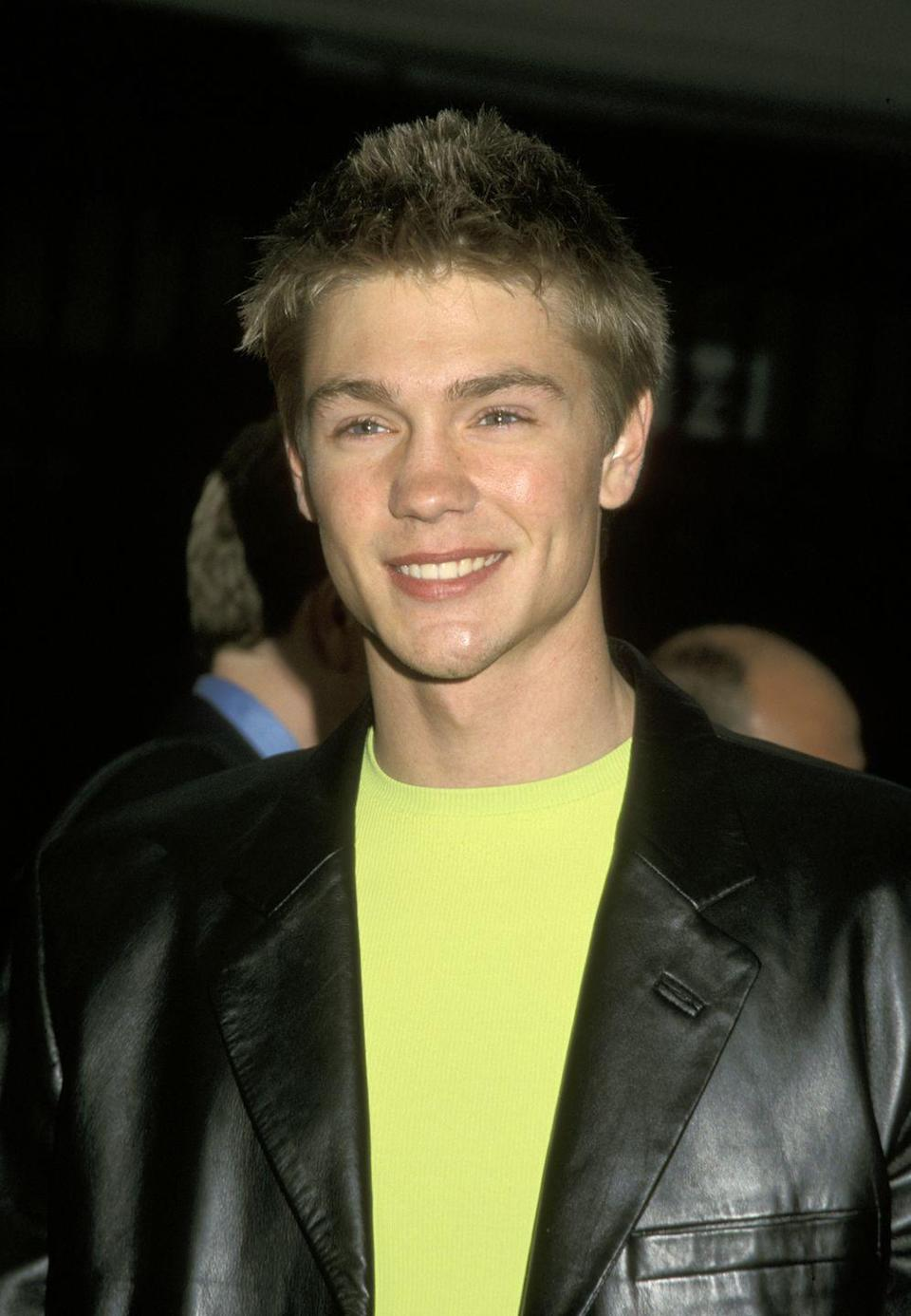 <p>Every millennial remembers a young Chad Michael Murray, who had the small-but-mighty role of high school heartthrob Tristan in season one. Chad debuted on the show just as his star was rising in Hollywood. </p>