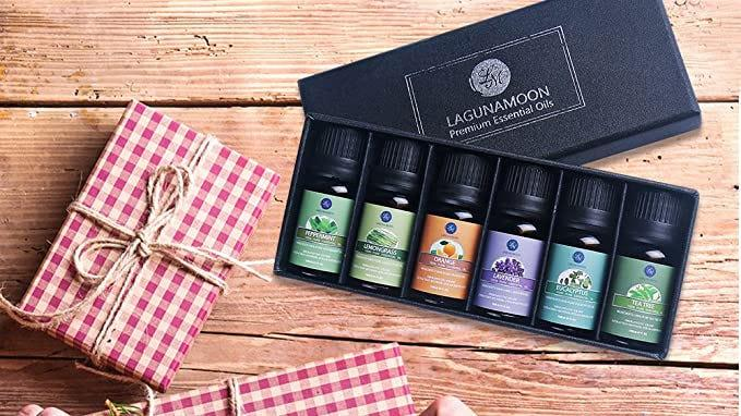 Stop and smell the essential oils.
