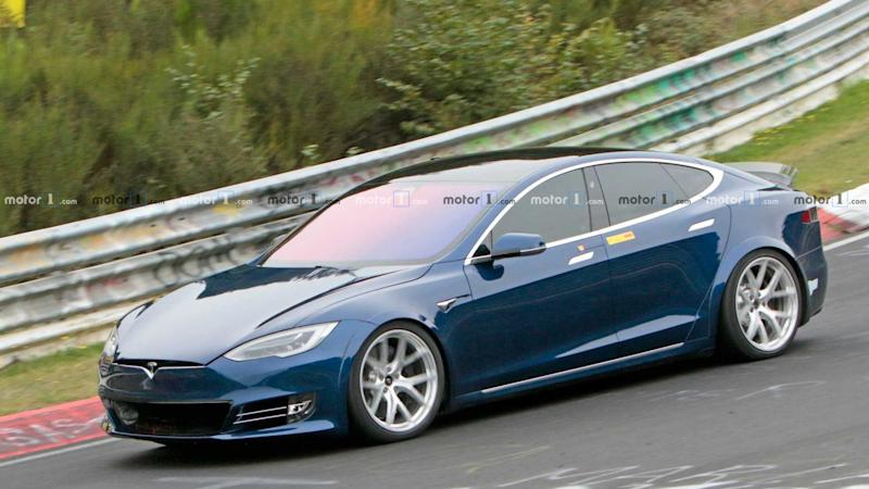 Tesla Model S Plaid Prototype