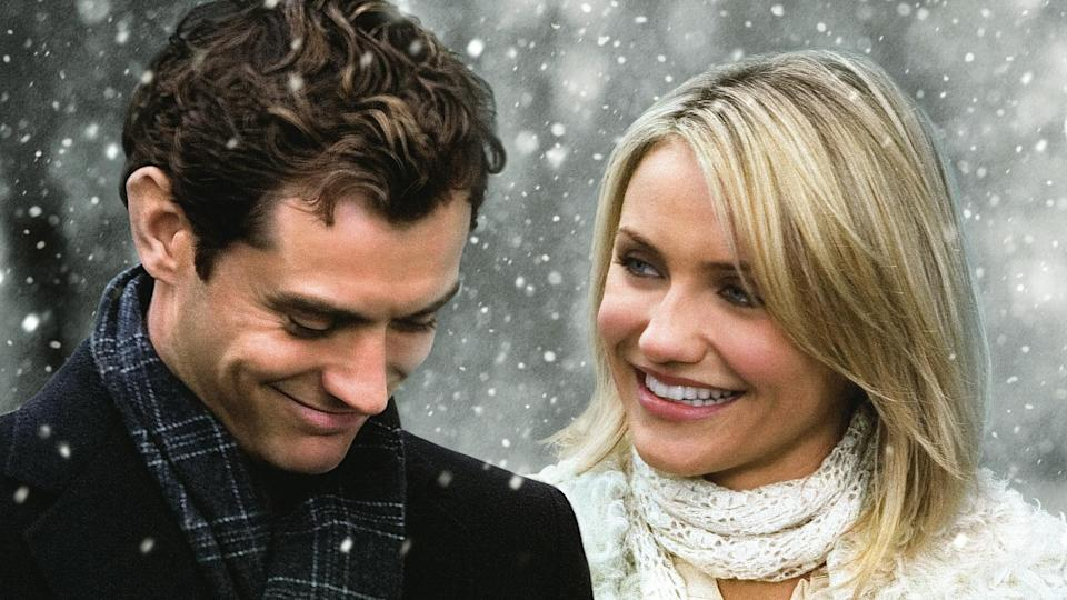 Festive sweetness is in ample supply in this starry film from romcom maestro Nancy Meyers, which features Kate Winslet, Cameron Diaz, Jude Law and Jack Black. (Credit: Universal)