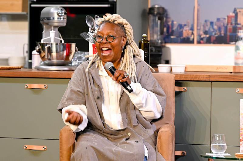 Whoopi Goldberg speaks onstage during the Grand Tasting on October 13, 2019 in New York City.