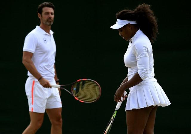 Patrick Mouratoglou has been Serena Williams' coach for 10 grand slam singles titles