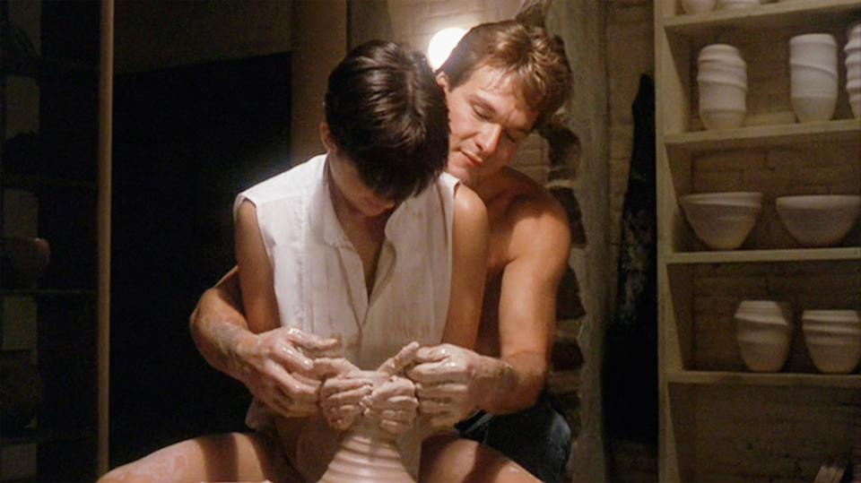 Demi Moore and Patrick Swayze star in Ghost. (Photo by CBS via Getty Images)