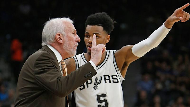 Popovich was ejected for abusing a referee. Pic: Getty