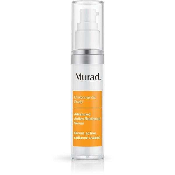 """This powerful serum has a Resilient-C Complex that not only reverses visible signs of environmental damage, but also improving brightness, clarity and radiance.  $90 at<a rel=""""nofollow"""" href=""""https://www.murad.com/product/advanced-active-radiance-serum/"""">Murad</a>"""
