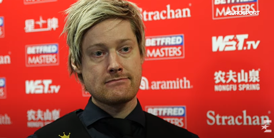 Robertson, 39, has taken this season by storm but insists he won't get carried away by being branded Crucible favourite