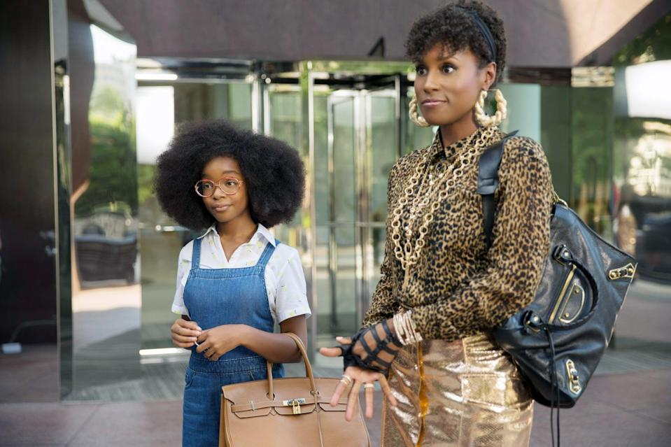 "<p>Businesswoman Jordan Sanders (Regina Hall) is a no-nonsense business mogul who mistreats everyone around her, especially her employees. The night before a big presentation, she is magically transformed into a 13-year-old version of herself and now has to rely on the person she treated the worst . . . her assistant April. Also starring <a href=""https://www.popsugar.com/celebrity/marsai-martin-talks-gen-z-black-ish-breaking-records-48096975"" class=""link rapid-noclick-resp"" rel=""nofollow noopener"" target=""_blank"" data-ylk=""slk:Marsai Martin"">Marsai Martin</a> and Issa Rae, <strong>Little</strong> is a beautiful representation of female Black excellence.</p> <p><a href=""https://play.hbomax.com/page/urn:hbo:page:GXXKTRgCVeRySmAEAAAoA:type:feature?camp=googleHBOMAX"" class=""link rapid-noclick-resp"" rel=""nofollow noopener"" target=""_blank"" data-ylk=""slk:Watch Little on HBO Max"">Watch <strong>Little</strong> on HBO Max</a>.</p>"