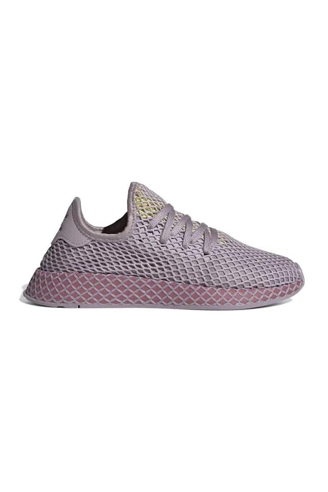 """<p><strong>Adidas</strong></p><p>adidas.com</p><p><a href=""""https://go.redirectingat.com?id=74968X1596630&url=https%3A%2F%2Fwww.adidas.com%2Fus%2Fdeerupt-runner-shoes%2FCG6084.html&sref=http%3A%2F%2Fwww.marieclaire.com%2Ffashion%2Fg28981723%2Fadidas-anniversary-sale-september-2019%2F"""" target=""""_blank"""">SHOP IT</a></p><p><del>$100</del><strong><br>$30</strong></p><p>Want to add some pep to your step? Adidas' Deerupt sneakers deftly marry form and function. </p>"""