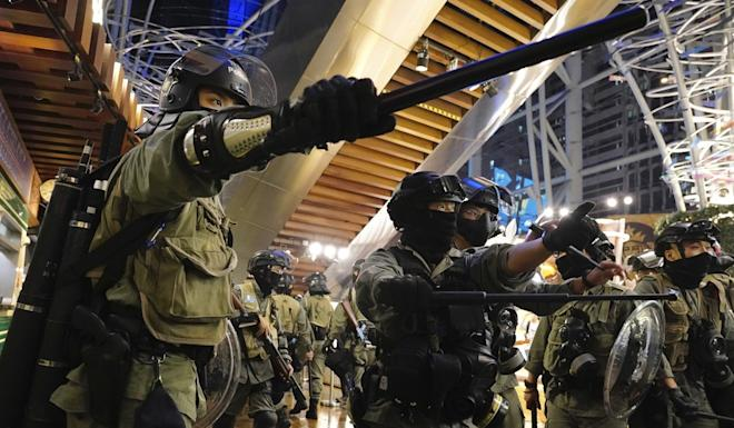 Hong Kong's leader has ruled out a commission of inquiry into police conduct during the protests. Photo: AP