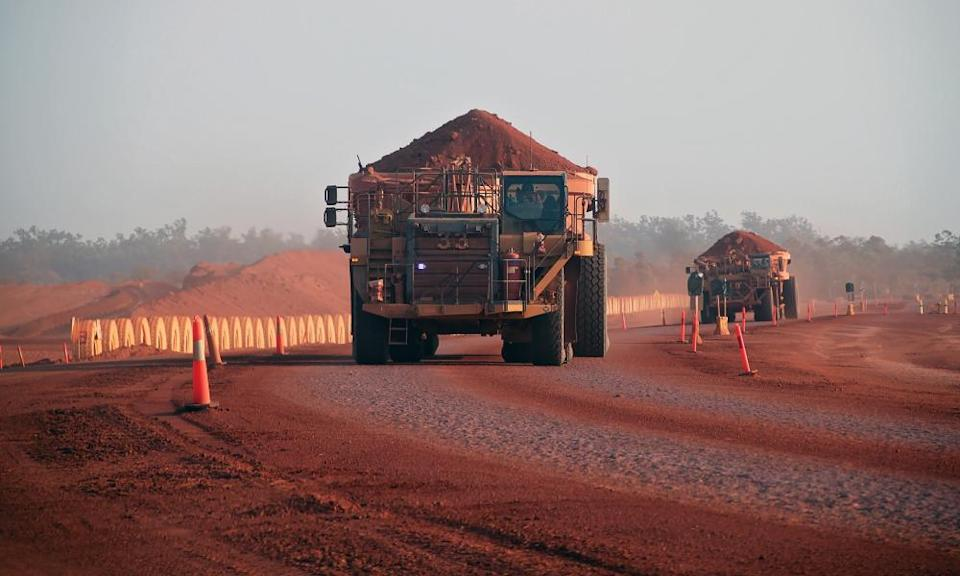 The QRC's members include some of the biggest mining and resources companies in Australia and the world, such as Rio Tinto.