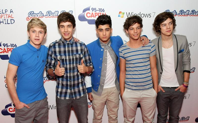 One Direction in 2011 (Photo: Claire Greenway via Getty Images)
