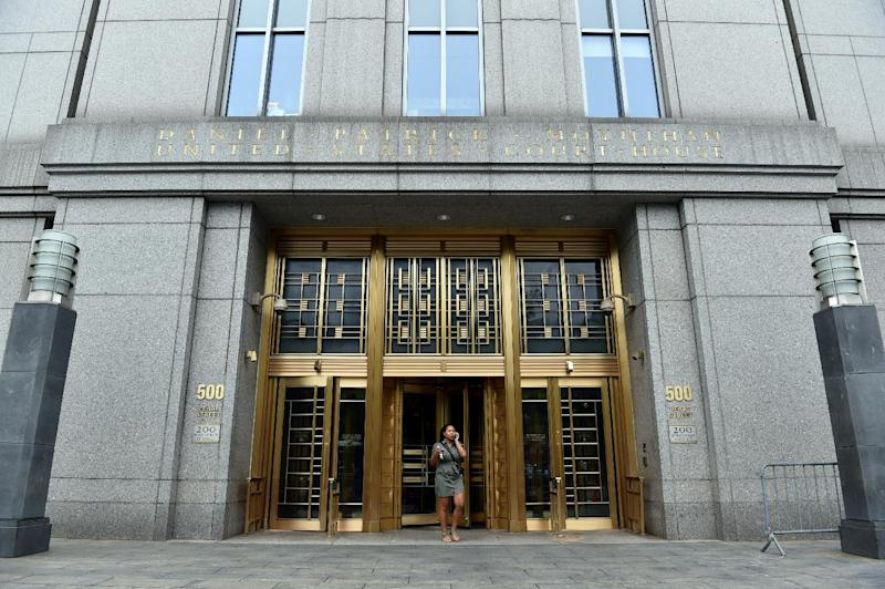 US Federal Court in Lower Manhattan on July 24, 2014