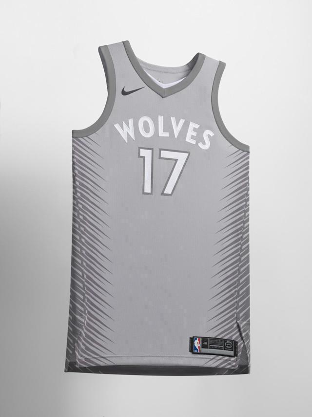 Minnesota Timberwolves City uniform. (Nike)
