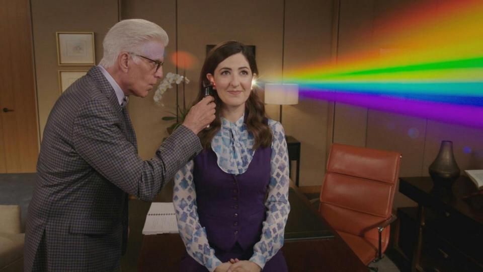 <p> <strong>UK:</strong> Netflix </p> <p> <strong>US: </strong>Netflix (seasons 1-3), Hulu (season 4) </p> <p> With a hand in The Office, Parks and Recreation, and Brooklyn Nine-Nine, writer/producer Michael Schur has something of a Midas touch when it comes to sitcoms. That's possibly why NBC gave him such free-rein to create a sitcom that genuinely breaks the mould – where else would silly puns flow seamlessly into complex musings on philosophy? Over four seasons, the afterlife-set comedy constantly reinvented itself, yet always felt like it knew where it was going. By the time we finally said goodbye to the wonderful ensemble, we felt like we knew them – the farewell episode is one of the all-time great sitcom finales. </p>