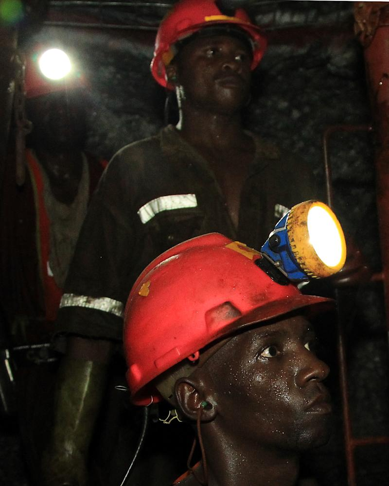 At South African mine, it's a long, long way down