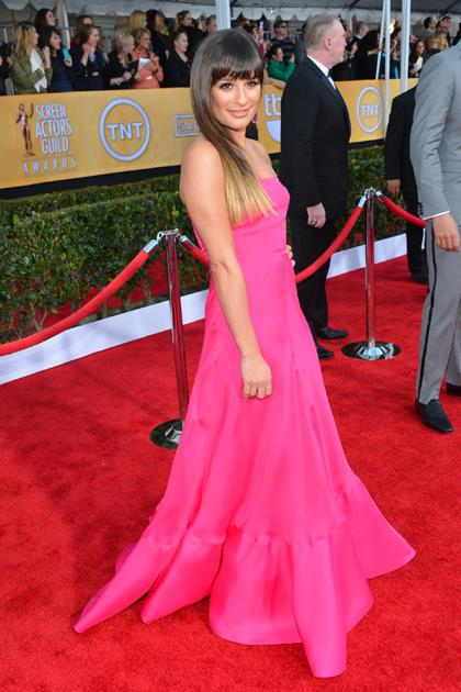 "Pretty in Pink: Da machten auch ""Glee""-Sweetheart Lea Michele und ..."