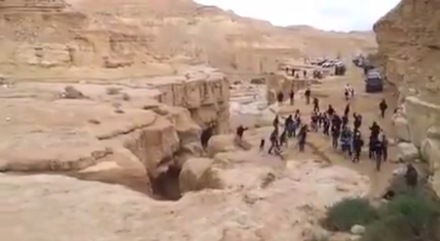 Incredible Video Shows River Returning to the Desert in Israel After Years of Drought