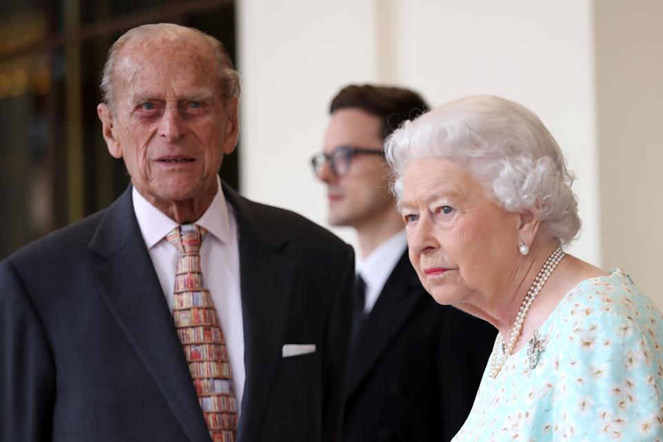 File photo dated 14/7/2017 of Queen Elizabeth II and the Duke of Edinburgh who will travel to Balmoral Castle in Aberdeenshire for their annual summer break in early August, Buckingham Palace has confirmed. PA Photo. Issue date: Wednesday July 22, 2020. See PA story ROYAL Queen. Photo credit should read: Chris Jackson/PA Wire