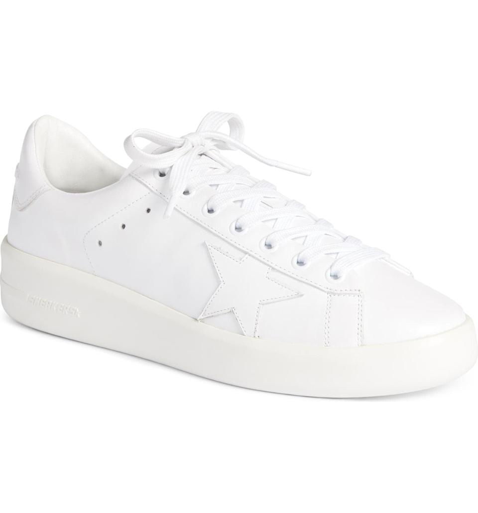 <p>You can't go wrong with these <span>Golden Goose Purestar Sneakers</span> ($495). They look great with jeans and a t-shirt or a cute dress.</p>