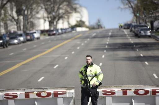 US Capitol shooting suspect in custody