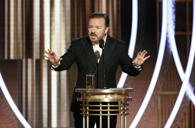 Ricky Gervais responds to criticism following Golden Globes backlash