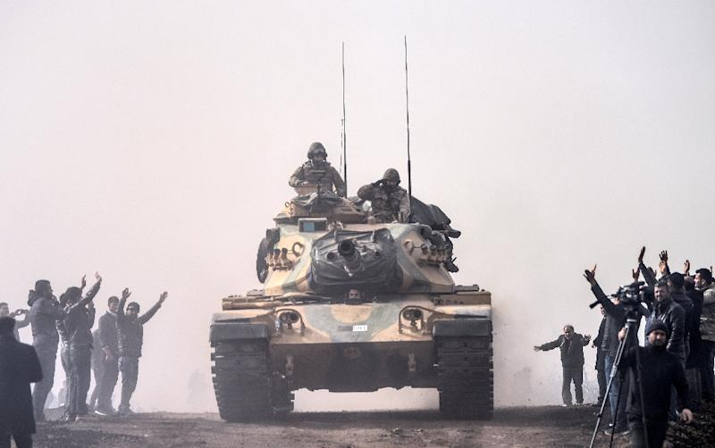 Turkey itself sent troops into Syria and launched an operation against the Kurdish People's Protection Units (YPG) militia in its Afrin enclave in January