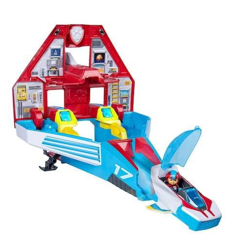 PAW Patrol Mighty Pup Super PAWS MightY Jet Command Centre (Spin Masters Toys) - Credit: Very