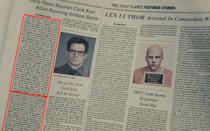 <p>In the obituary for Clark Kent, the opening couple of paragraphs are repeated further down the article. Credit: Warner Bros. </p>