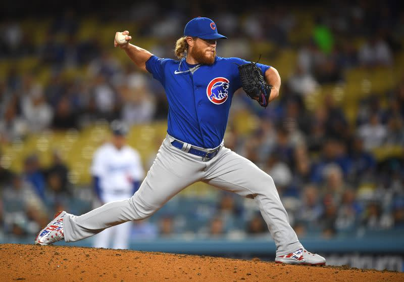 MLB: Chicago Cubs at Los Angeles Dodgers
